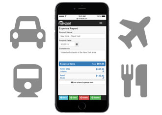 Mobile Phone | Web-Based Expense Tracking